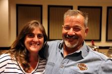 Chris Harkins and Kim Foley