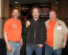 """Staff Photo Gallery Dave and Bruce with """"Tig"""" Kim Coates of Sons of Anarchy"""